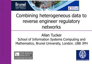 Combining heterogeneous data to reverse engineer regulatory networks