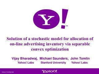 Yahoo! Confidential