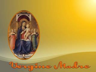 Vergine madre, figlia del tuo figlio, umile e alta più che creatura,