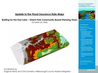 Update to the Flood Insurance Rate Maps