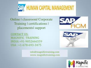 sap hcm online training in india
