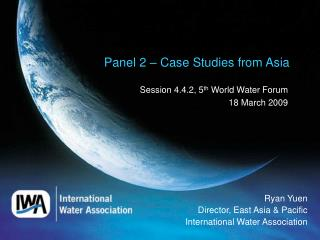Panel 2 – Case Studies from Asia