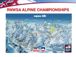 RNWSA ALPINE CHAMPIONSHIPS