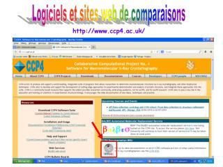 Logiciels et sites web de comparaisons