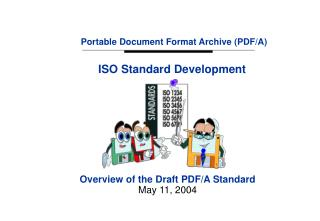 Portable Document Format Archive (PDF/A)
