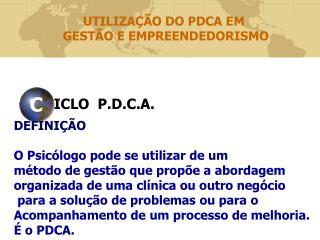 ICLO  P.D.C.A.