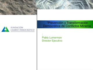 :   Pablo Lumerman Director Ejecutivo