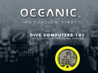 DIVE COMPUTERS 101