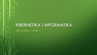 Kibernetika i informatika
