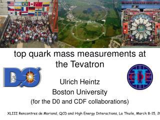 top quark mass measurements at the Tevatron