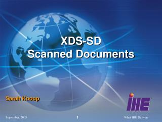 XDS-SD                 Scanned Documents