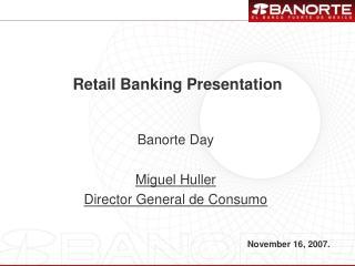 Retail Banking Presentation