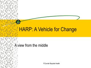 HARP: A Vehicle for Change