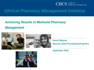 Achieving Results in Medicaid Pharmacy Management