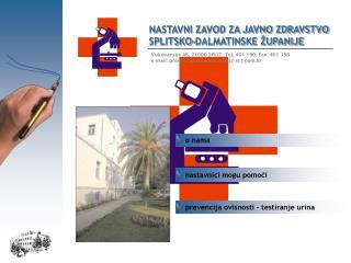 Vukovarska 46, 21000 SPLIT; Tel. 401 190; Fax. 401 195
