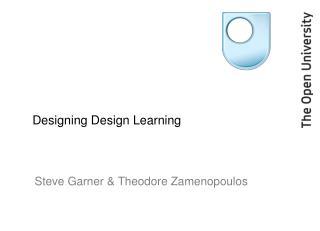 Designing Design Learning