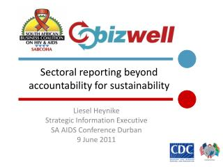 Sectoral reporting beyond  accountability for sustainability