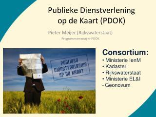 Publieke Dienstverlening op de Kaart (PDOK)