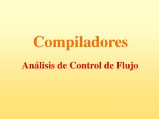 Análisis de Control de Flujo