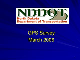 GPS Survey March 2006