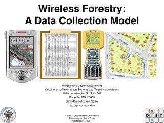 Wireless Forestry:  A Data Collection Model