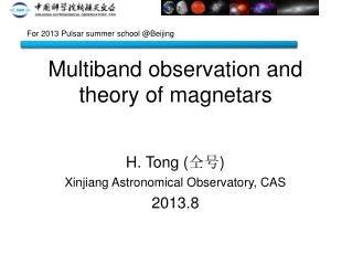 Multiband observation and theory of magnetars
