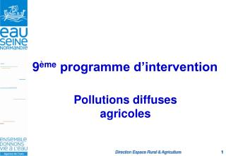 9 ème  programme d'intervention