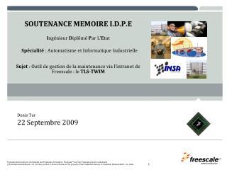 Denis Tur 22 Septembre 2009