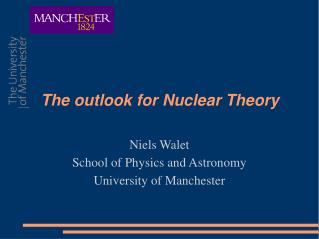 The outlook for Nuclear Theory