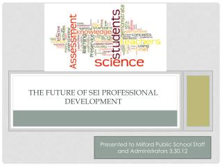 The Future of SEI Professional Development