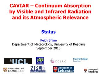 CAVIAR – Continuum Absorption by Visible and Infrared Radiation and its Atmospheric Relevance