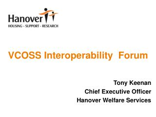 VCOSS Interoperability  Forum