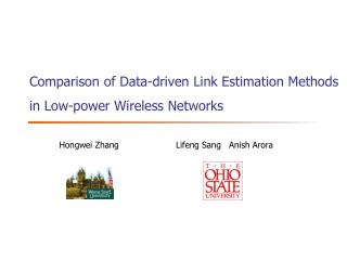 Comparison of Data-driven Link Estimation Methods in Low-power Wireless Networks