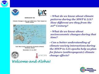 Welcome and Aloha!