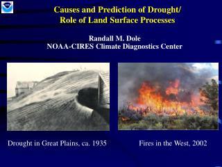 Drought Causes,Prediction/LS processes