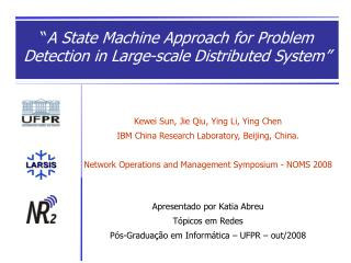 Kewei Sun, Jie Qiu, Ying Li, Ying Chen IBM China Research Laboratory, Beijing, China.