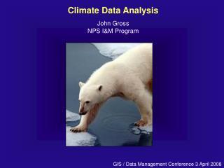 Climate Data Analysis