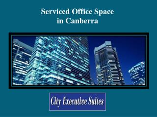 Serviced Office Space in Canberra