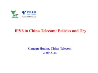 IPV6 in China Telecom: Policies and Try