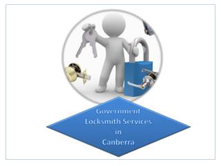 Government Locksmith Services in Canberra