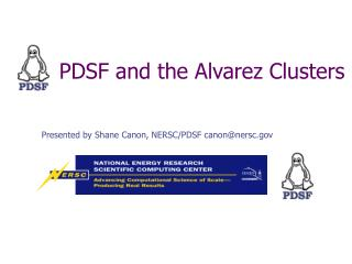 PDSF and the Alvarez Clusters