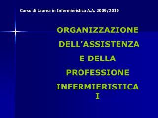 Corso di Laurea in Infermieristica A.A. 2009/2010