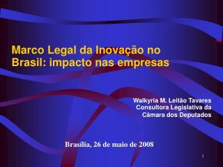 Marco Legal da Inovação no Brasil: impacto nas empresas