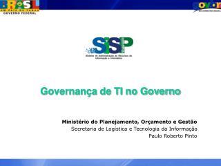 Governança de TI no Governo