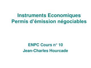 Instruments Economiques Permis d'émission négociables