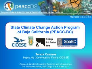 State Climate Change Action Program  of Baja California (PEACC-BC)