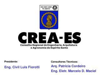 Presidente: Eng. Civil Luis Fiorotti