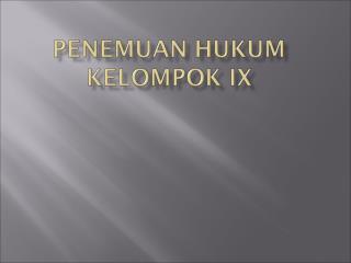 Putusan Pengadilan Negeri Bandung No.319 /PDT.G/2002/PN.BDG Penggugat : Ny. Lenny Setiawan