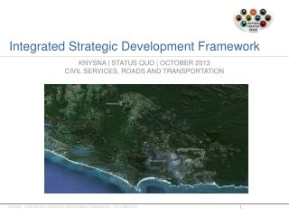 Integrated Strategic Development Framework
