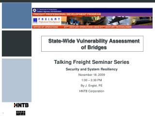 State-Wide Vulnerability Assessment of Bridges